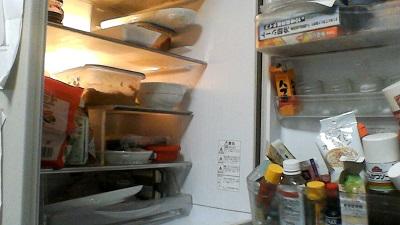 冷蔵庫、掃除前、ビフォー、掃除、やる気
